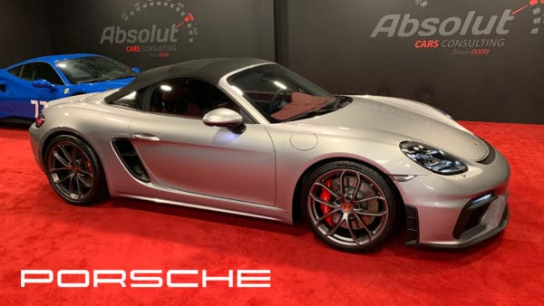 Porsche Boxster Spyder 2020